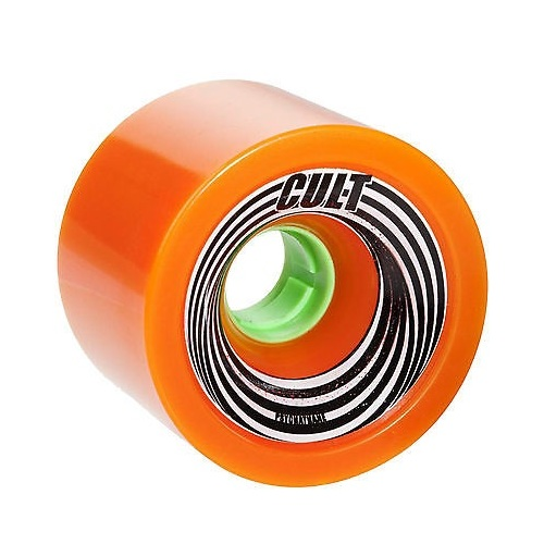 Cult Wheels Death Ray 72mm Orange