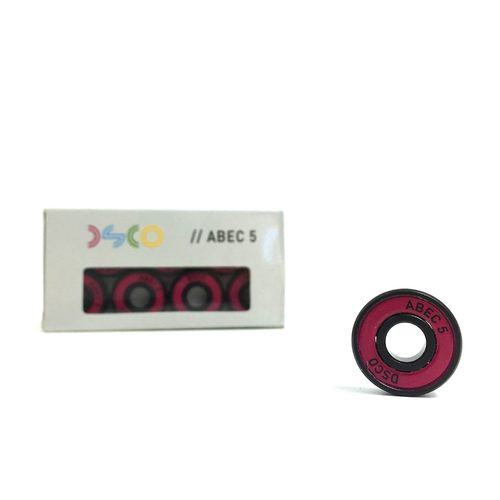 DSCO Bearings Abec 5 with Pink Shields