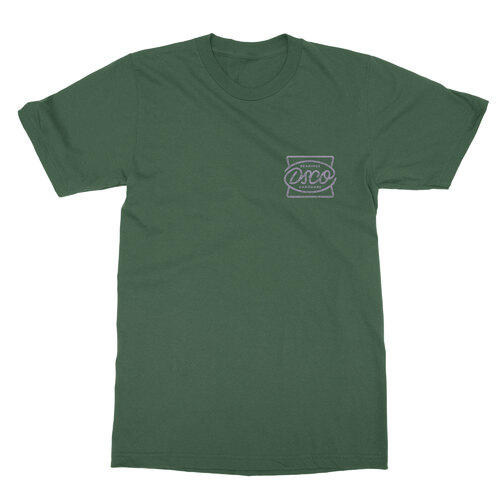 DSCO Tee Mono Badge Forest Green (M)