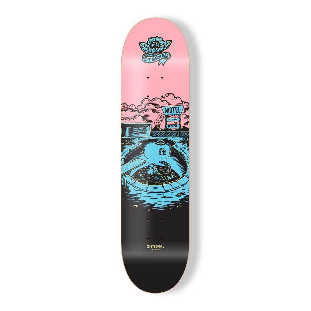 "Eternal Deck 8.125"" Wasteland Pool"