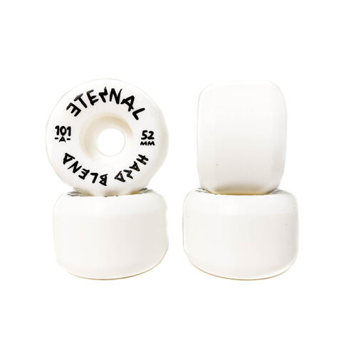 Eternal Wheels 50mm (101A) Hard Blend White