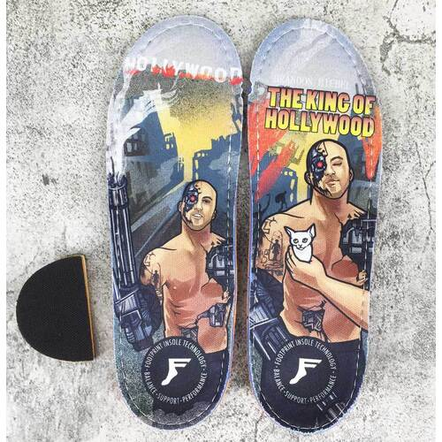 Footprint 7mm Insoles (11/11.5) Biebel King of Hollywood