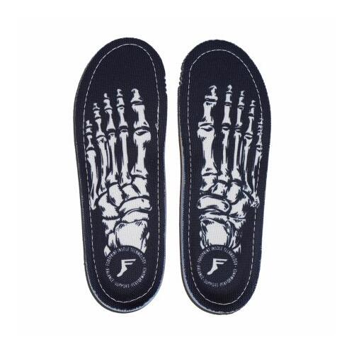 Footprint Orthotic Insoles (13/13.5) Skeleton