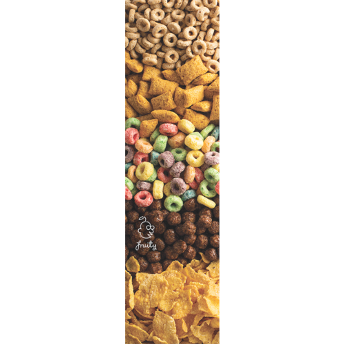 "Fruity Griptape (9""x33"") Cereal Single Sheet"