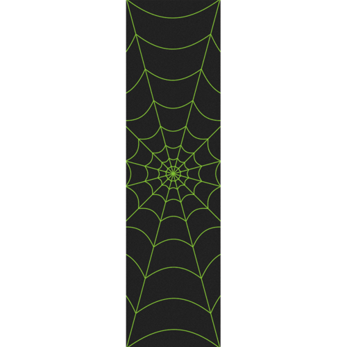 "Fruity Griptape (9""x33"") Green Spider Single Sheet"