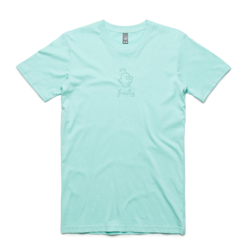 Fruity Tee Sumblinal Logo Aqua (XL)