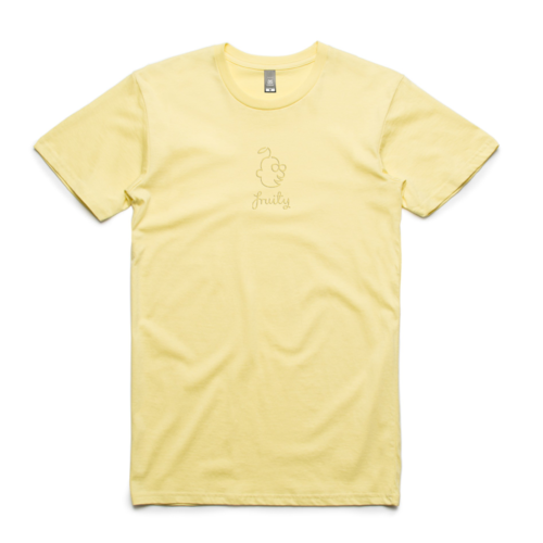 Fruity Tee Sumblinal Logo Lemon (M)