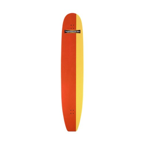 "Hamboards Completes 6' 6"" Classic Orange Yellow HST"