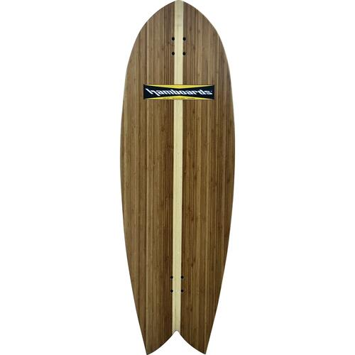 "Hamboards Complete 4' 5"" Fish Bamboo"