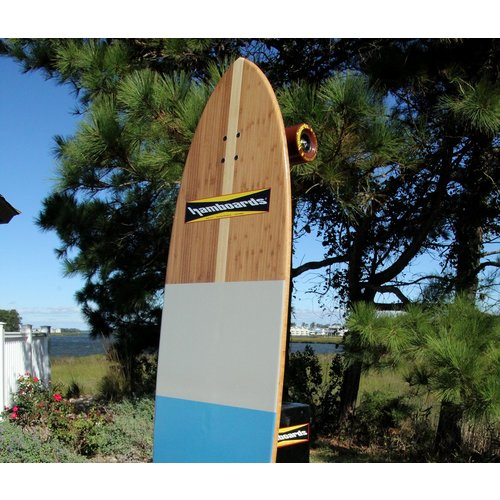 "Hamboards Complete Pinger 5' 7"" Bamboo Blackies HST"