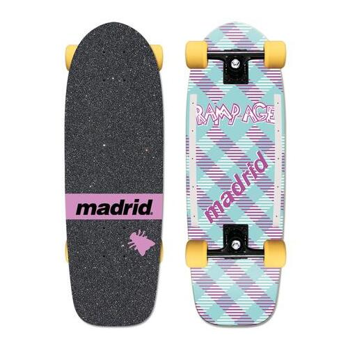 "Madrid Complete Max Rampage Official Replica 29.25"" x 9.5"""