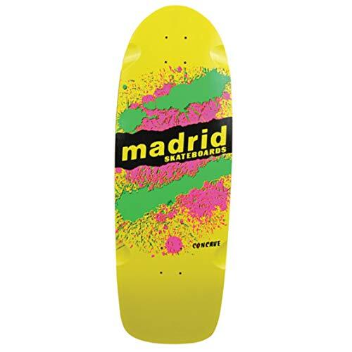"Madrid Deck OG Cruiser Explosion Yellow/Green/Yellow 29.25"" x 9.5"""