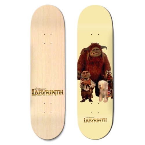 "Madrid x Labyrinth Deck 8.0"" Friends"