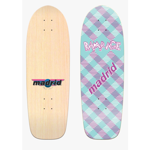 "Madrid Deck Retro Rampage 29.25"" x 9.5"""