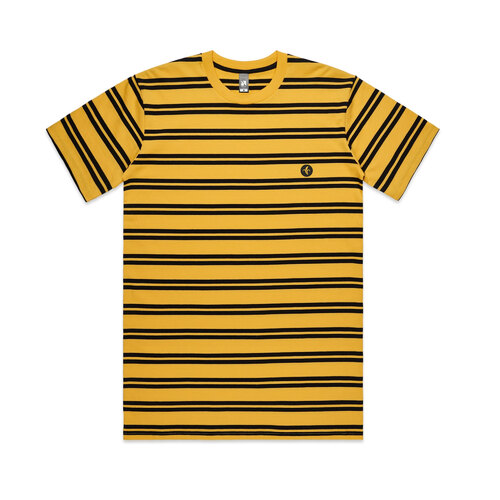 NANA Tee (2XL) Yellow/Black Stripes
