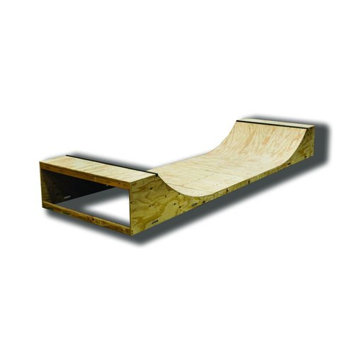 Half Pipe 2 Foot High (1800mm Wide)