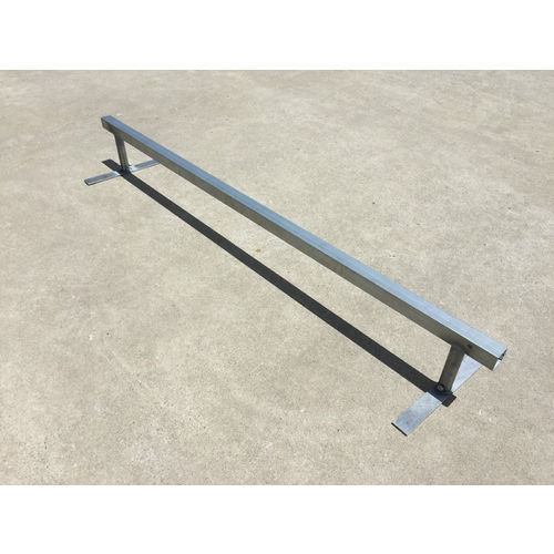 Trinity Flat Bar Square Grind Rail - 2m Long with Adjustable Height
