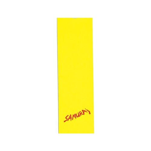 Samurai Scooter Grip Neon Yellow 3.5 inch x 12.5 inch