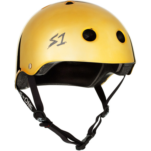 S-One Helmet Lifer (2XL) Gold Mirror