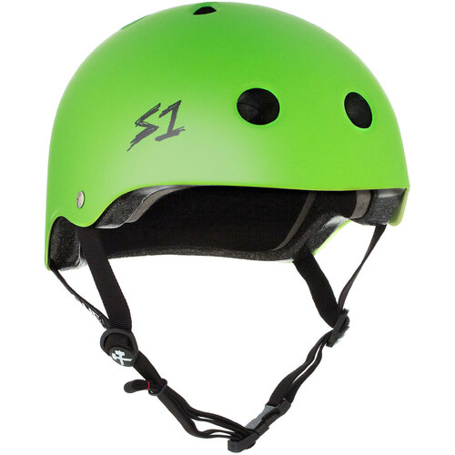 S-One Helmet Lifer (L) Bright Green Matte