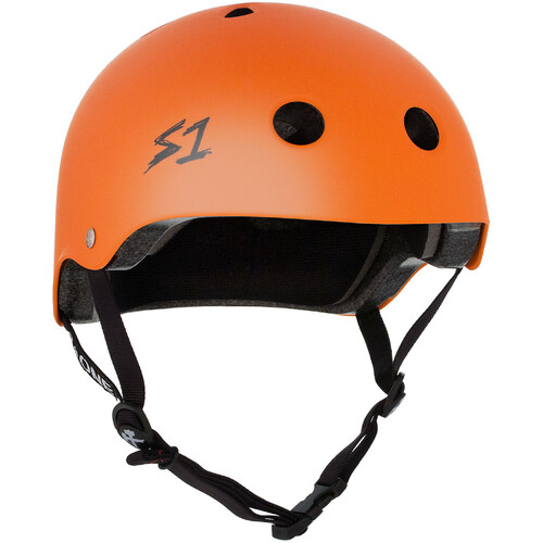 S-One Helmet Lifer (M) Orange Matte