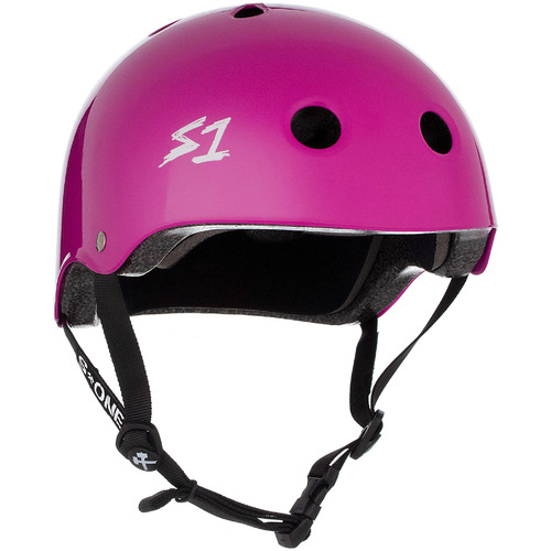 S-One Helmet Lifer (XS) Bright Purple Gloss