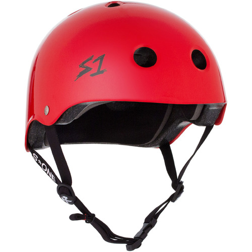 S-One Helmet Lifer (M) Bright Red Gloss