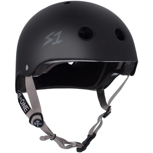 S-One Helmet Lifer (2XL) Vert's Dead Black Matte