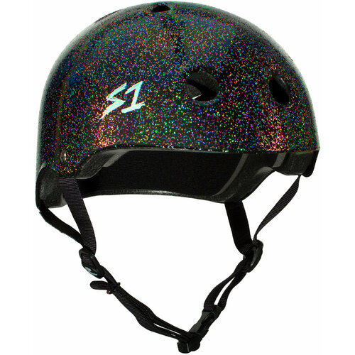 S-One Helmet Lifer (XS) Black Gloss Glitter
