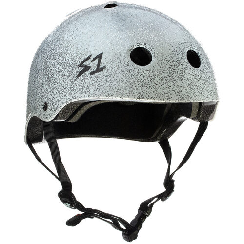 S-One Helmet Lifer (M) White Metal Flake Glitter