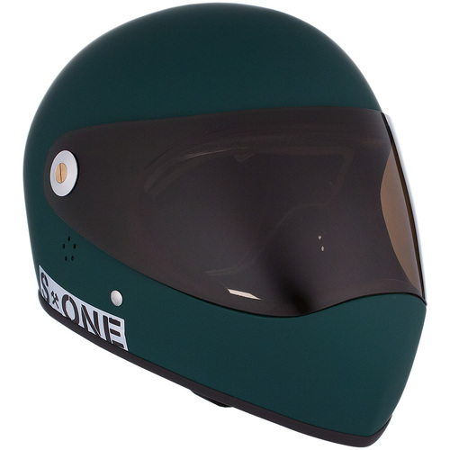 S-One Full Face Helmet Lifer (L) Dark Green Matte