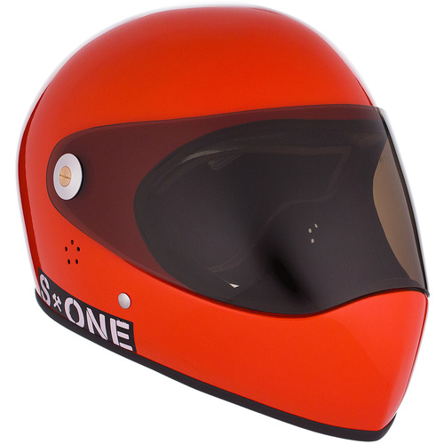S-One Full Face Helmet Lifer (XL) Lava Orange Gloss
