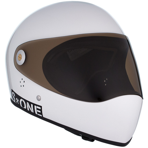 S-One Full Face Helmet Lifer (3XL) White Gloss