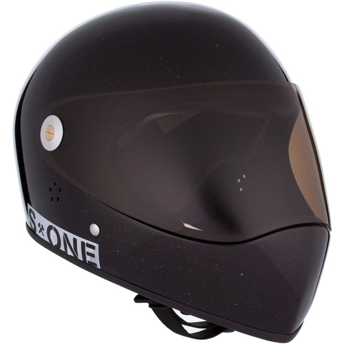 S-One Full Face Helmet Lifer (XL) Black Gloss Glitter