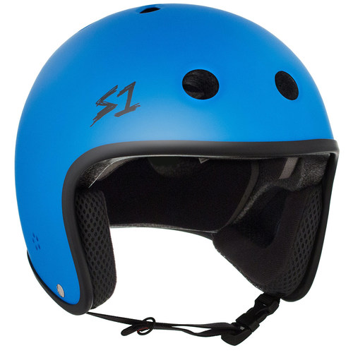 S-One Helmet Retro Lifer (2XL) Cyan Matte