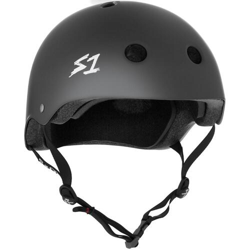 S-One Helmet Mega Lifer (S) Dark Grey Matte