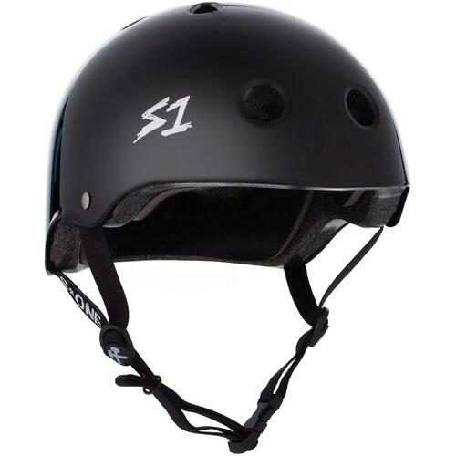 S-One Helmet Mega Lifer (3XL) Black Gloss