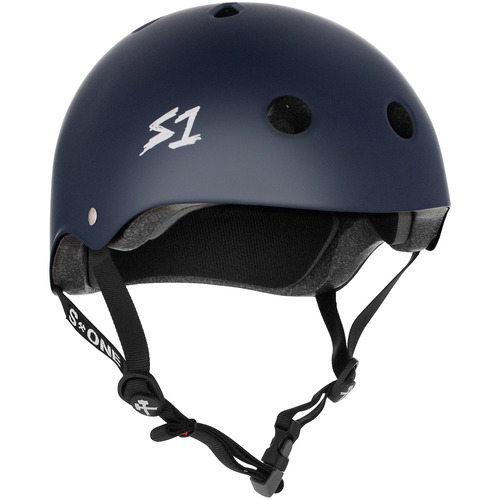 S-One Helmet Mega Lifer (M) Navy Matte