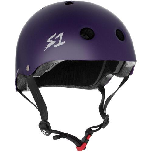 S-One Helmet Mini Lifer (L) Purple Matte