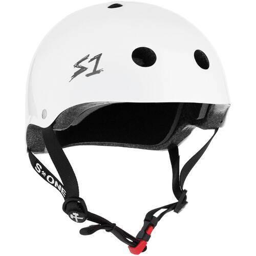 S-One Helmet Mini Lifer (XL) White Gloss