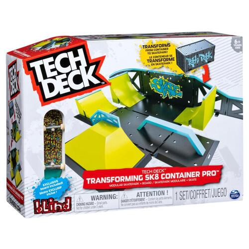 Tech Deck Transforming Street Container 2.0