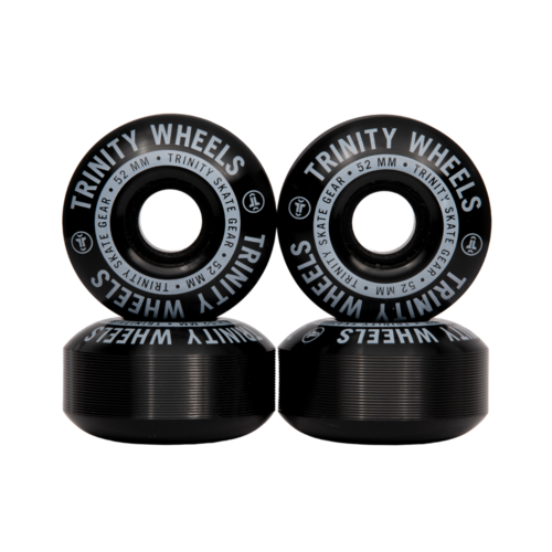 Trinity Wheels 53mm (100a) Black