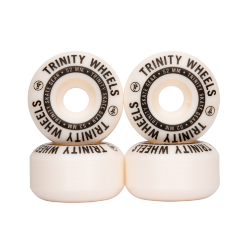 Trinity Wheels 52mm (100a) White