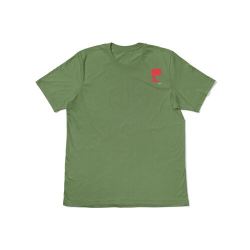 Uma Tee (L) WingWing Light Olive