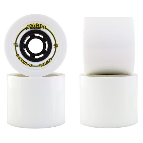 Venom Wheels Mach 1 Cannibals 76mm 76a White