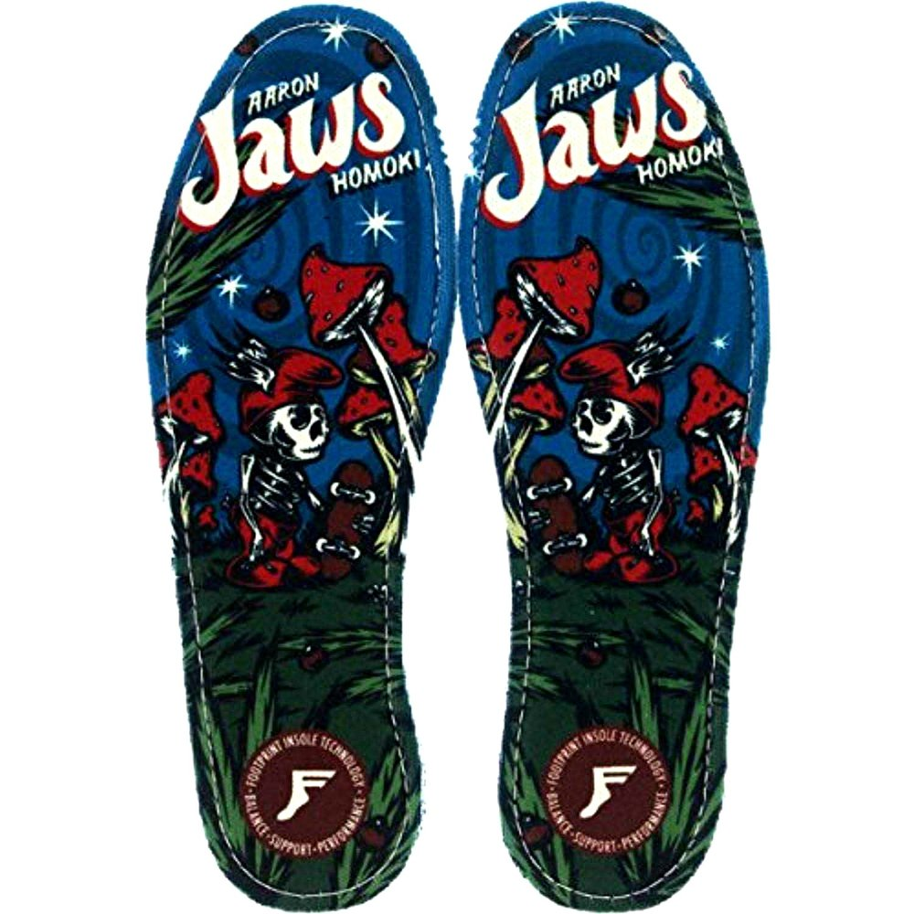 Footprint 7mm Insoles (10/10.5) Jaws Mushroom