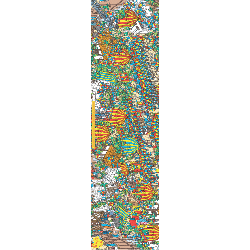 "Fruity Griptape (9""x33"") Where's Wally Robin Hood"