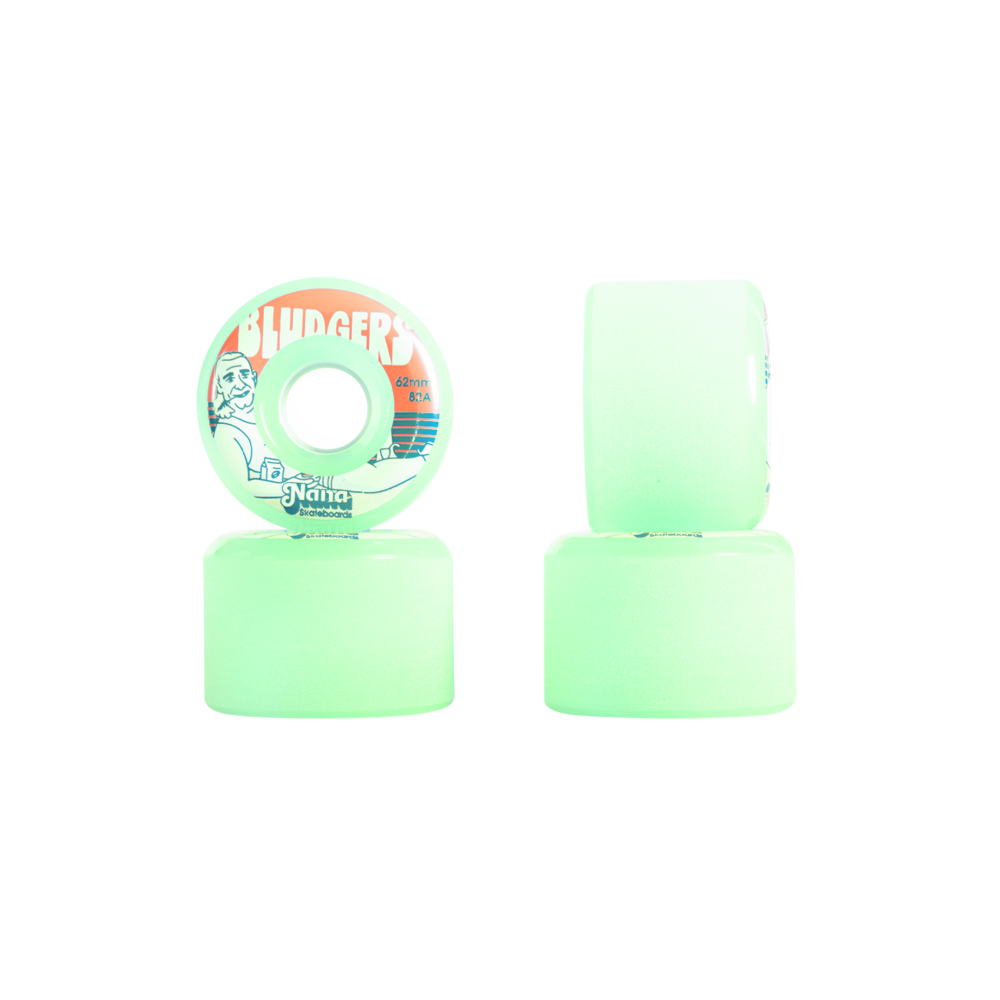 NANA Wheels 69mm Bludgers Lime Cooler
