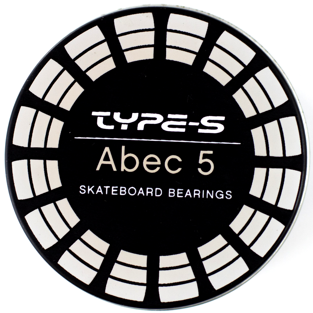 Type-S Bearings Abec 5 with Grey Steel Shields