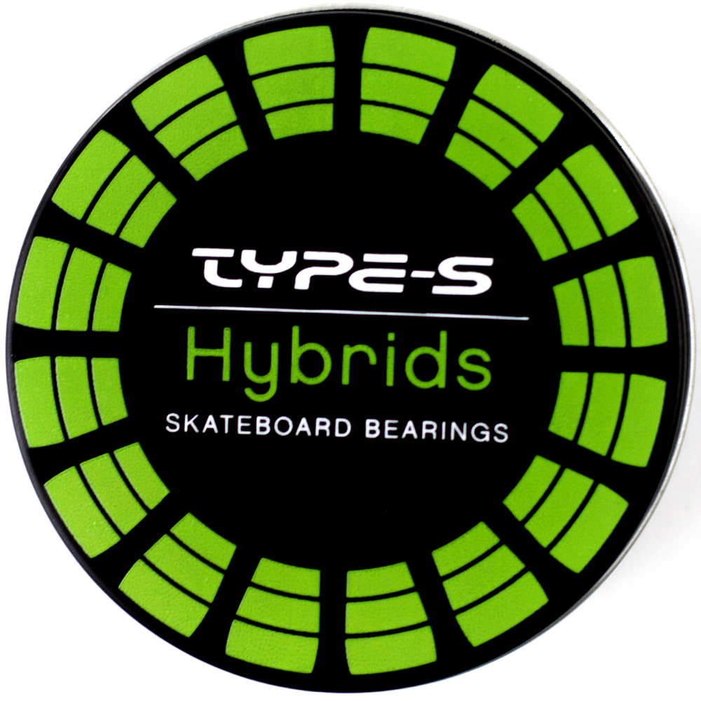 Type-S Bearings Hybrids with Green Steel Shields